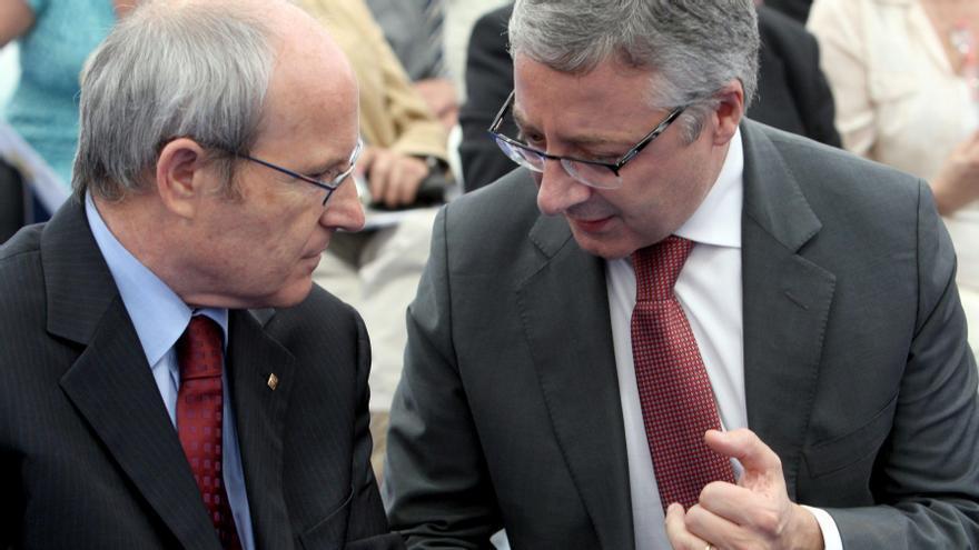 José Montilla y José Blanco, en 2020.