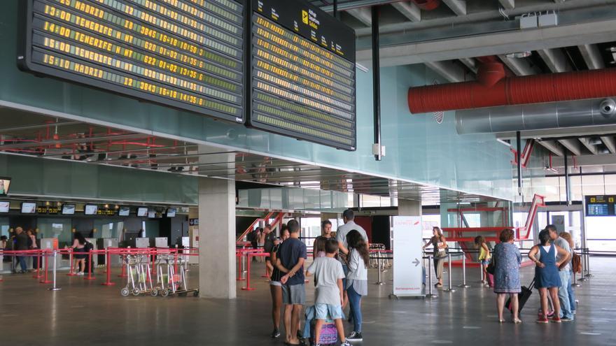 Imagen de archivo de la terminal del Aeropuerto de La Palma.