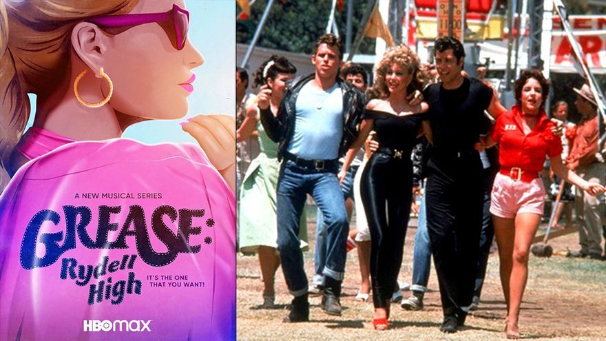 'Grease; Rydell High' - HBO Max