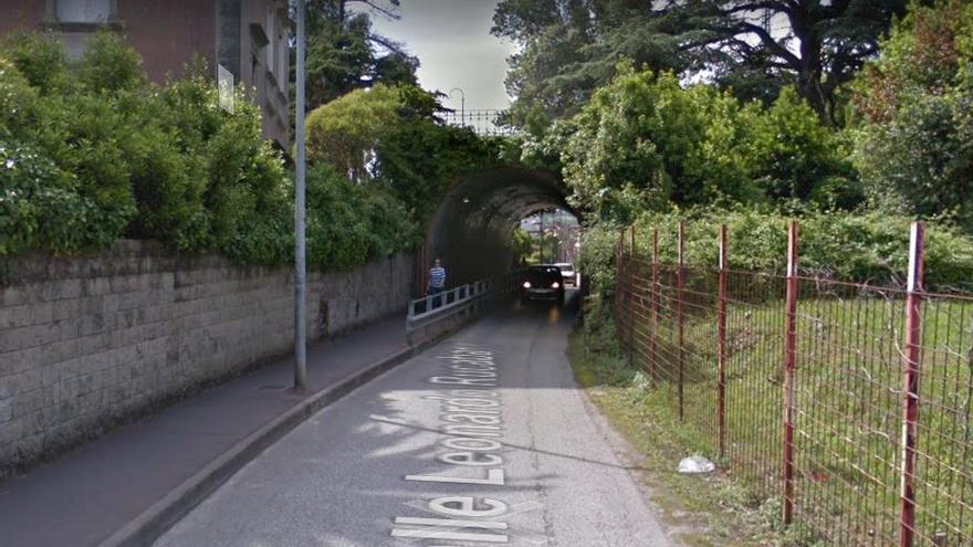 Túnel de Ocharan en Castro Urdiales.