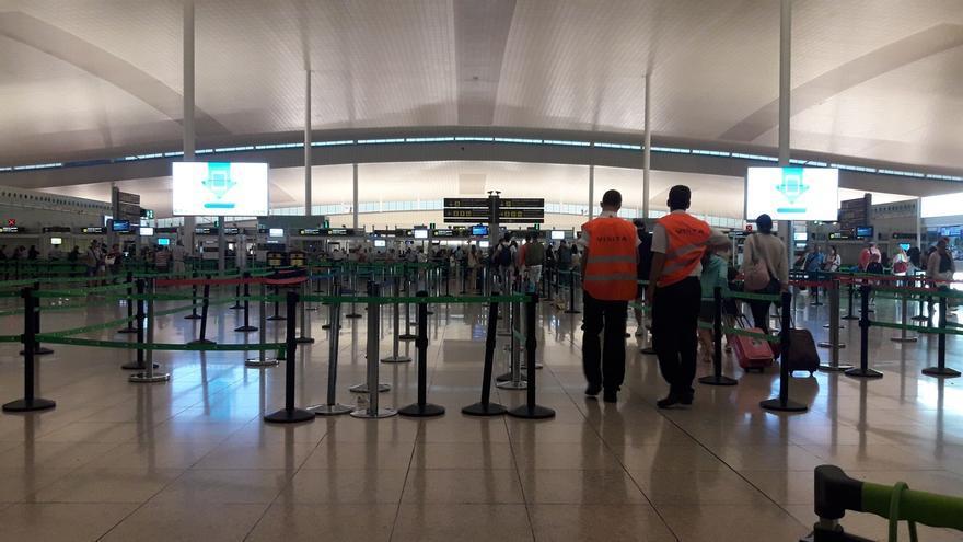 UGT considera que el Gobierno viola el derecho a huelga de los trabajadores de El Prat al desplegar a la Guardia Civil