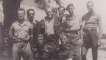 Fotografía de un grupo de brigadistas del Batallón Lincoln. / Abraham Lincoln Brigade Archives (ALBA)