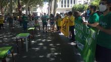 Organizaciones en defensa de la educación pública salen a las calles de las ciudades andaluzas