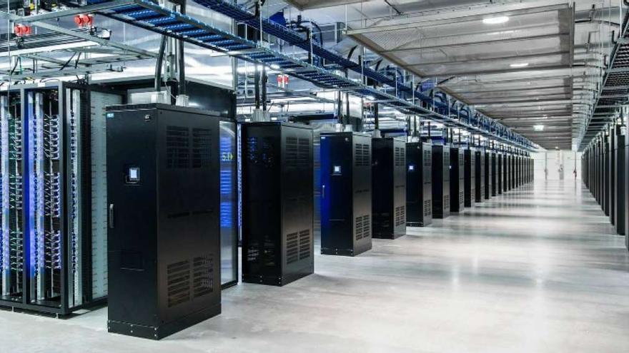 Un centro de datos de EEUU, en una imagen de archivo.