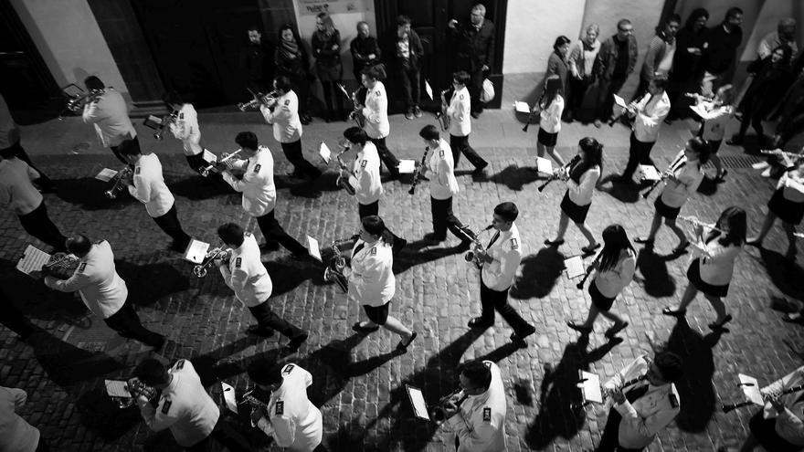Banda de Música San Miguel de Santa Cruz de La Palma. Foto: Yaiza Castillo (Fotocofrade 2016)