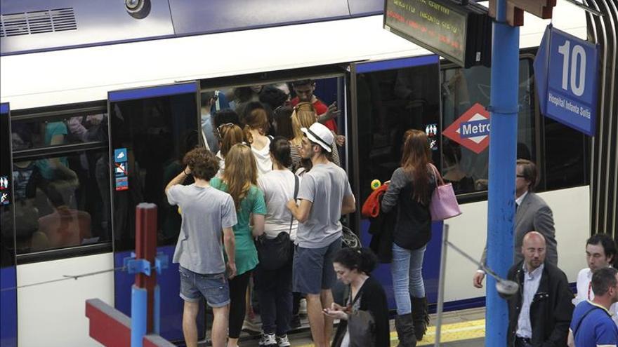 CCOO, UGT y SO convocan paros parciales en Metro para el jueves 22