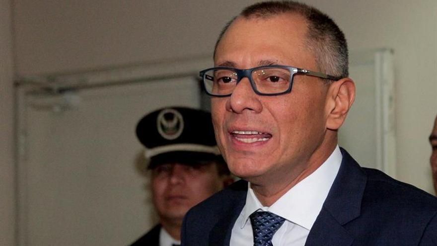 La Corte Constitucional da su aval para un juicio político al vicepresidente de Ecuador