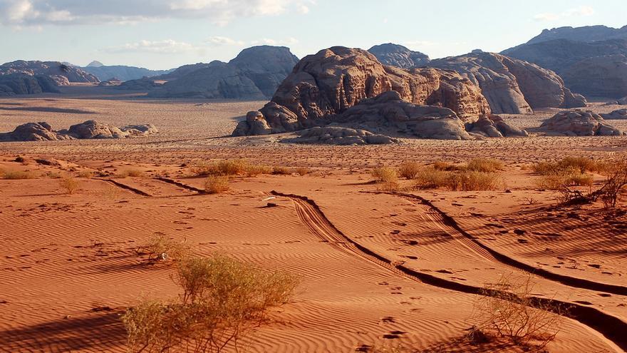 Arenas del Wadi Rum, el desierto más fotogénico de Oriente Medio. Dan (CC)