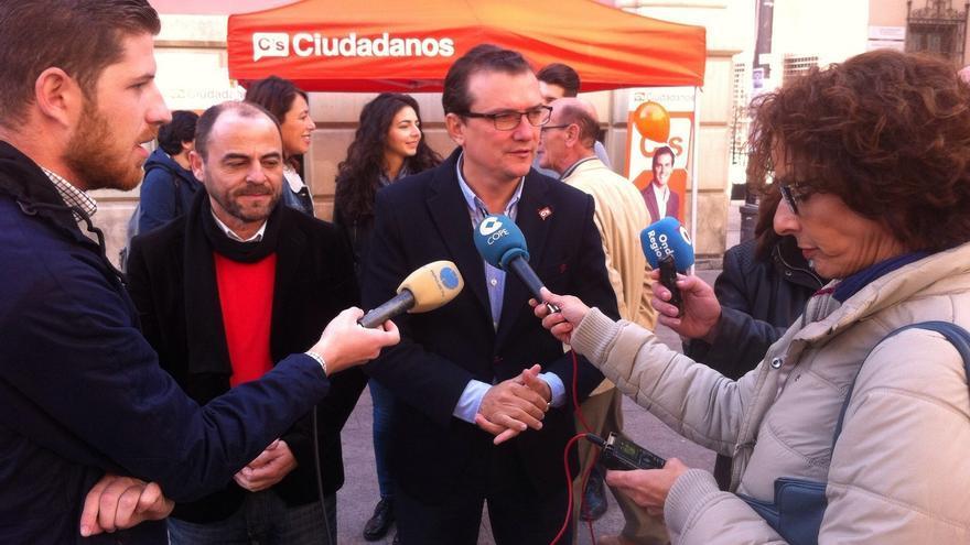 Miguel Garaulet, candidato de Ciudadanos por Murcia