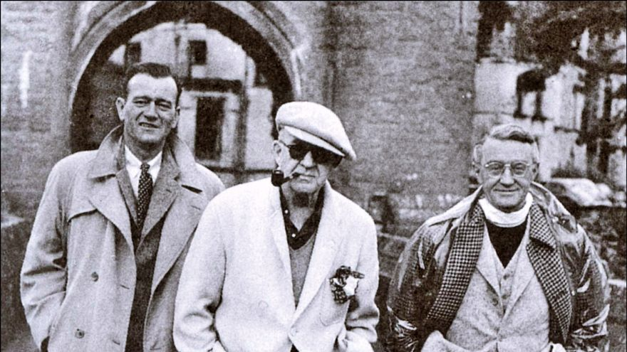 John Wayne, John Ford y Arthur Shields