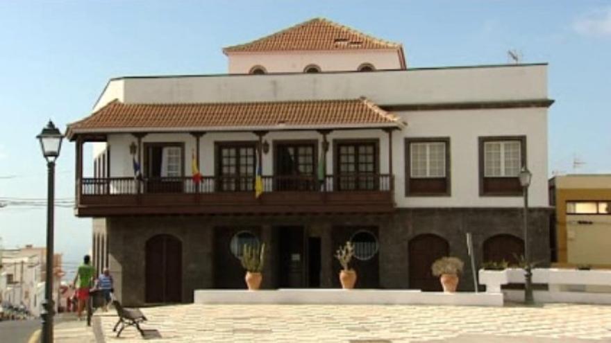 Ayuntamiento de Arico (Fotograma RTVC)