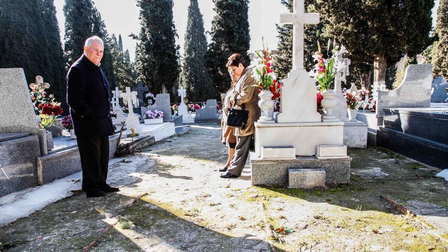 La familia de Guillermo Palmero Muñoz espera poder realizar la exhumación con garantías de recuperar sin ninguna duda los restos del miliciano muerto en la Batalla del Jarama. Foto: ARMH.
