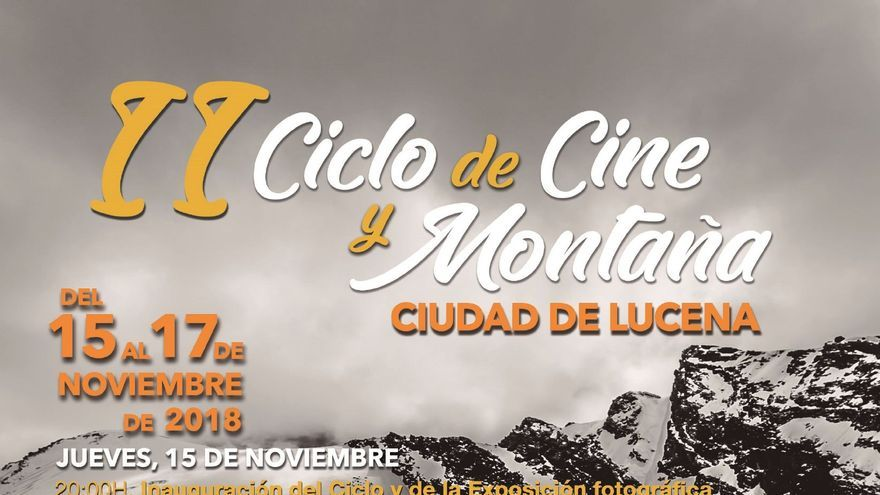 Ciclo Cine Montaña.