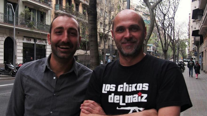 Claudio Milano y José Mansilla, coordinadores del libro 'Ciudad de vacaciones'.