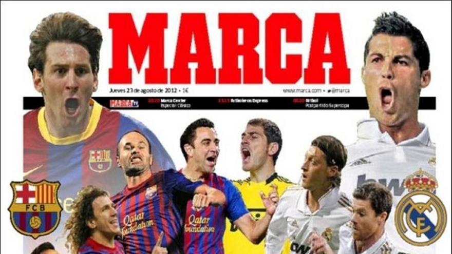 Las portadas del día (23/08/2012) #13