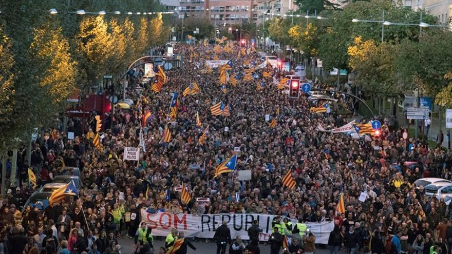 Cataluña vivirá hoy otra jornada movilización para exigir libertad presos