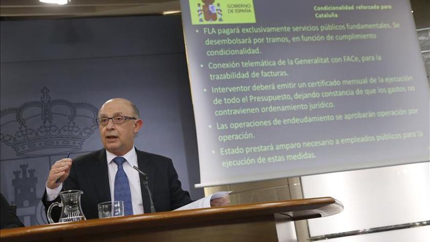 Montoro encarga investigar los 1.300 millones que Cataluña no contabilizó