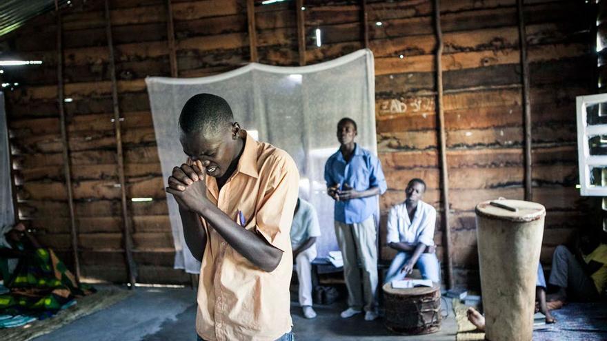 Centro de oración. Los centros psiquiátricos son el último recurso. Foto: Patrick Meinhardt