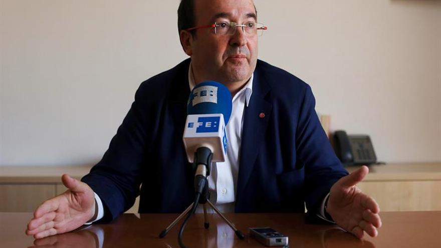 """Iceta reclama un Gobierno que """"no esconda la cabeza"""" y negocie con Cataluña"""