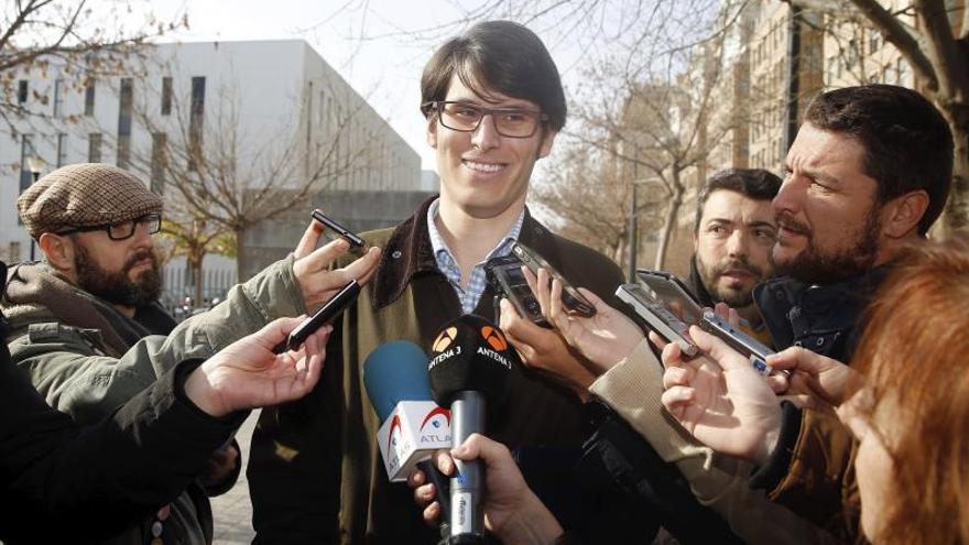 El asesor del Partido Popular en el Ayuntamiento de Valencia Luis Salom