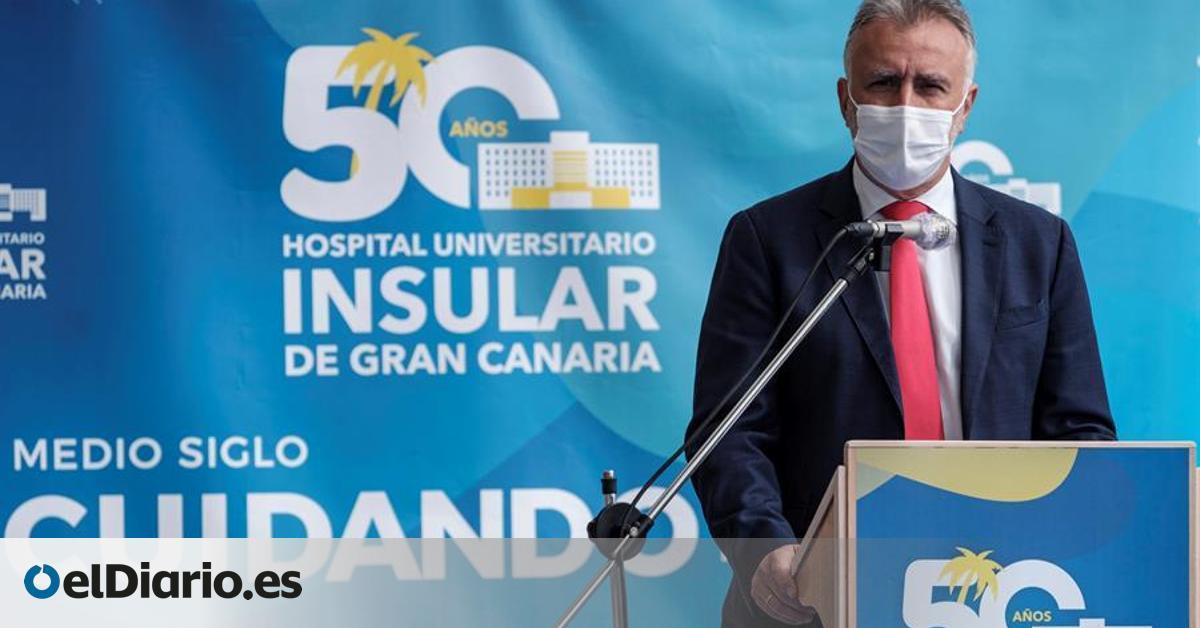 El presidente de Canarias defiende el toque de queda en Semana Santa y que se apliquen  restricciones duras