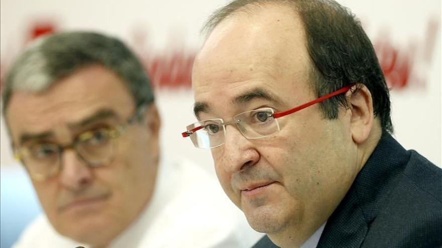 """Iceta critica la """"presión monumental"""" de PP y Gobierno sobre el Fiscal General"""