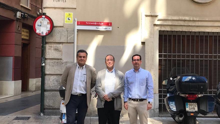 Representantes de Castilla-La Mancha en la sede de la Confederación Hidrográfica del Segura