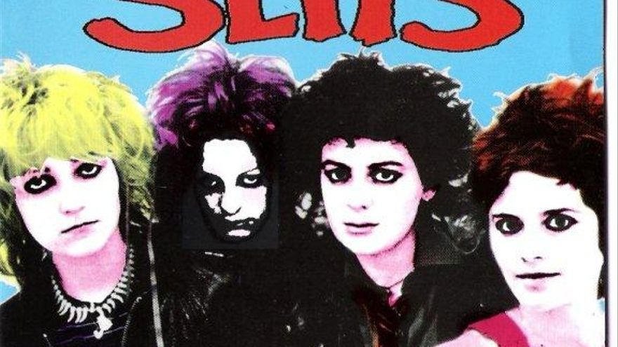 Portada del album 'In The Beginning', de la banda The Slits, donde Paloma Romero 'Palmolive' tocó la batería
