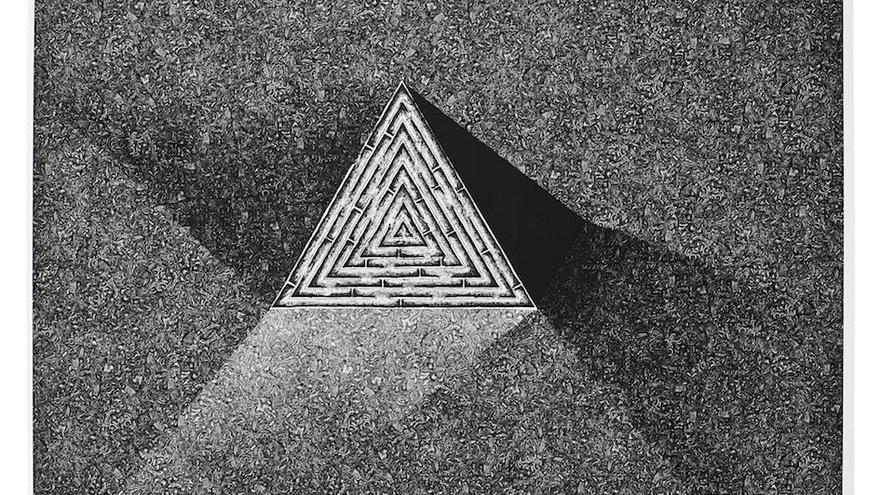 Primer premio de la cuadragésima cuarta edición del Premio Internacional de Arte Gráfico Carmen Arozena. Autor: Pawet Delekta.