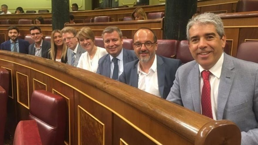 Convergència apela a la doctrina del Tribunal Constitucional para defender su grupo ante la Mesa del Congreso