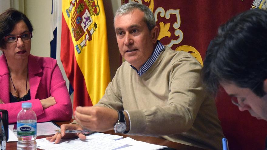 El concejal de Atención Social, Óscar García