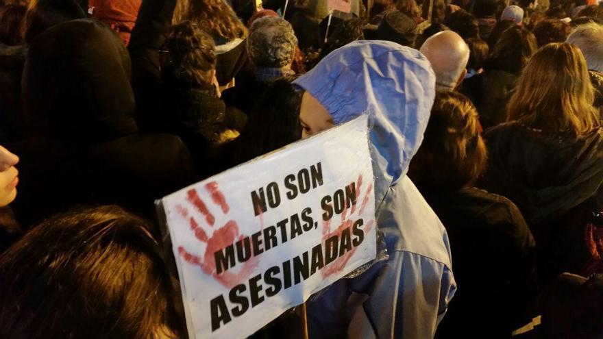 """No son muertas son asesinadas"" / Foto: Cristina Armunia"