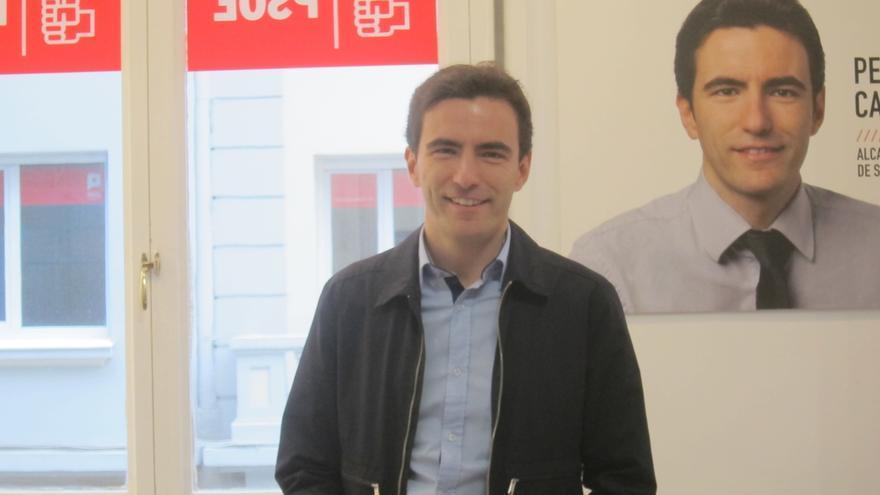 """Casares espera un """"debate de ideas en positivo"""" con Ramón Ruiz y cualquier otro candidato al PSOE de Santander"""