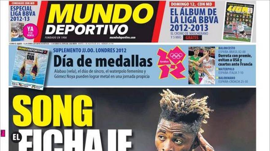 De las portadas del día (07/08/2012) #12