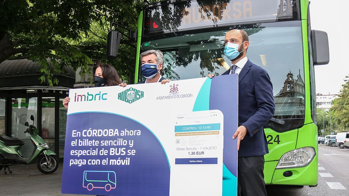 Implantación del nuevo servicio de pago con móvil en la empresa municipal de autobuses Aucorsa