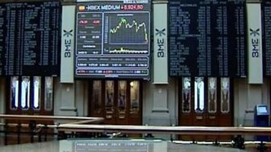 La Bolsa cae un 1,27% al cierre