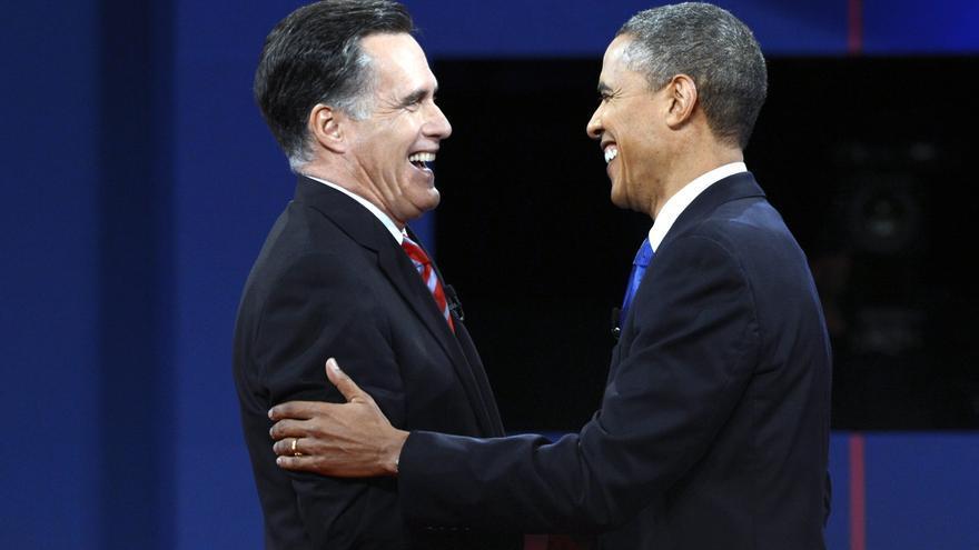Obama le gana el pulso a Romney en política exterior en un debate muy reñido