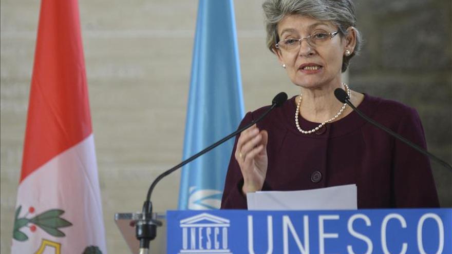 La directora de la Unesco destaca la apuesta de España por la cultura contra la crisis