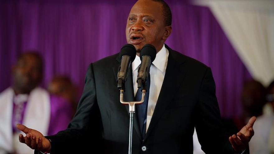 """Kenyatta promete encargarse del """"problema"""" del Supremo si consigue la reelección"""