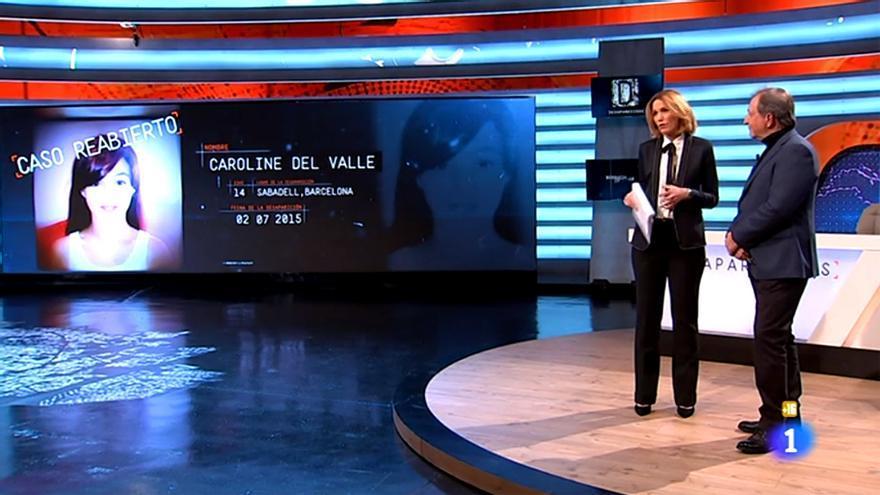 Desaparecidos en La 1 de TVE
