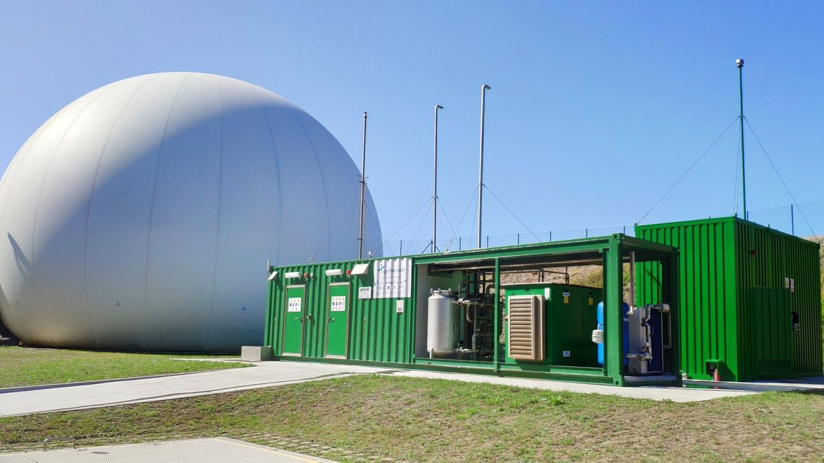 Imagen recurso de creación de hidrógeno verde.