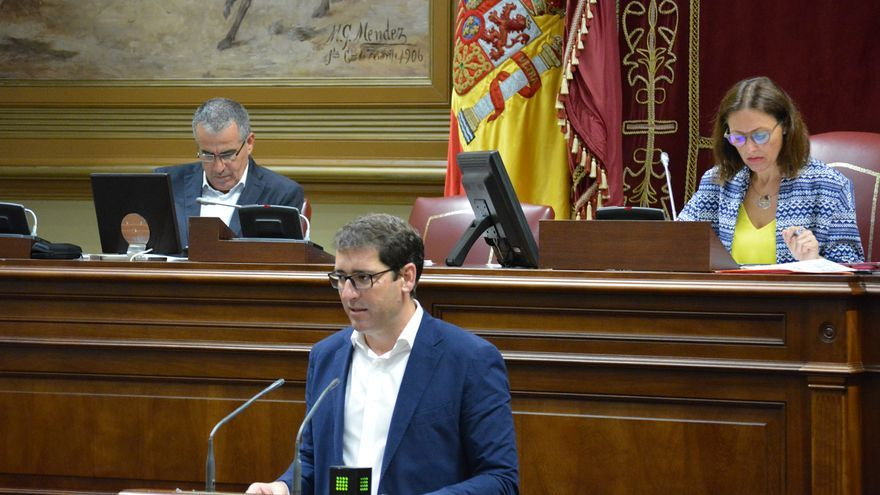 El diputado socialista en el Parlemto de Canarias, Iñaki Lavandera