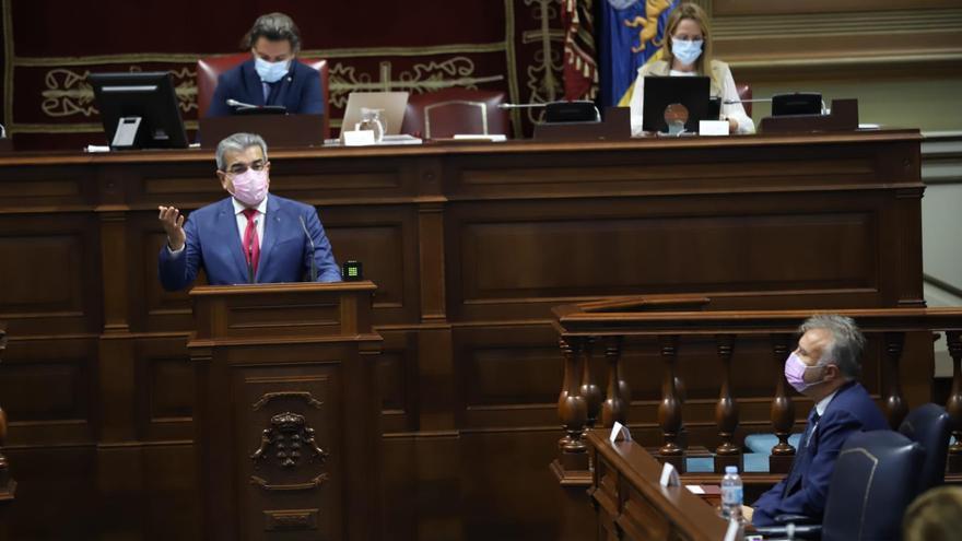 """El Parlamento apoya unos """"presupuestos expansivos"""" para iniciar """"la remontada de Canarias sin hipotecar su futuro"""""""