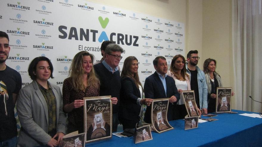 Acto de presentación del programa festivo de mayo en la capital tinerfeña