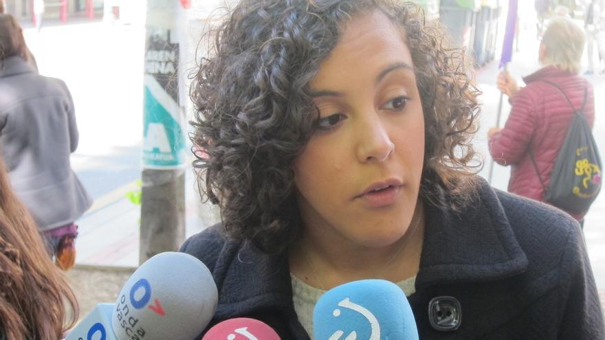 """Alba (Podemos) cree """"perfectamente legítima"""" la """"protesta"""" y """"llamada de atención"""" al Gobierno que supone el 1-O"""