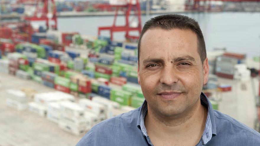El tinerfeño Antolín Goya, líder del sindicato mayoritario Coordinadora de Trabajadores del Mar