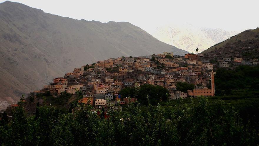 Vista del pueblo Achain II. (Cedida a Canarias Ahora).