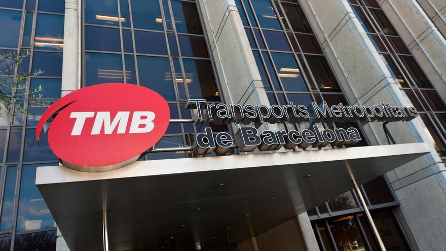 Oficinas de Transportes Metropolitanos de Barcelona (TMB) en la Zona Franca