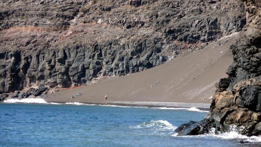 Arenal en Playa Quemada. Pat Neary
