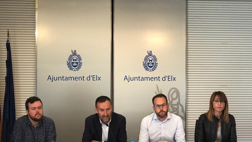 Antonio García, Carlos González, Héctor Díez y Patricia Macià